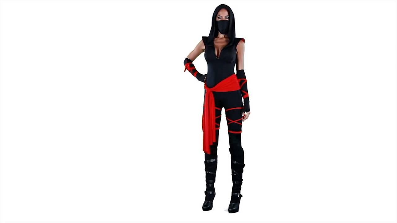 sc 1 st  YouTube & Deadly Ninja Costume - ESCAPADE FANCY DRESS - YouTube