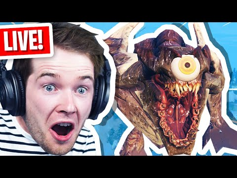 Fortnite ROBOT vs MONSTER Live Event Reaction!
