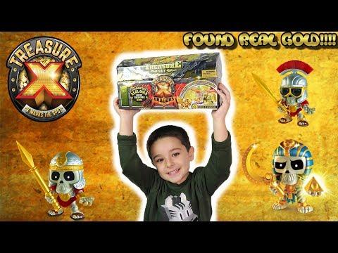 Treasure X Dragons Season 2! Real gold Find!!! Tubers FunFam