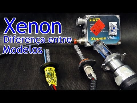 Xenon - Diferenças entre os Modelos - The difference between models