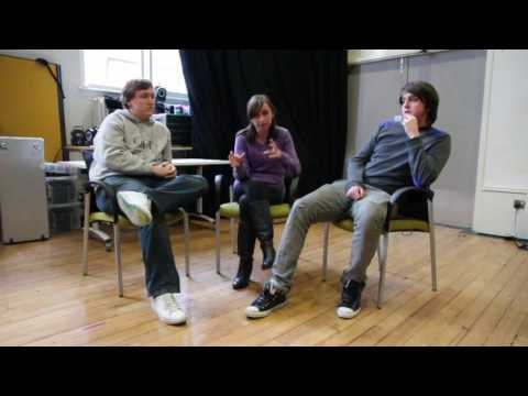 Three Shakespeare in Performance students