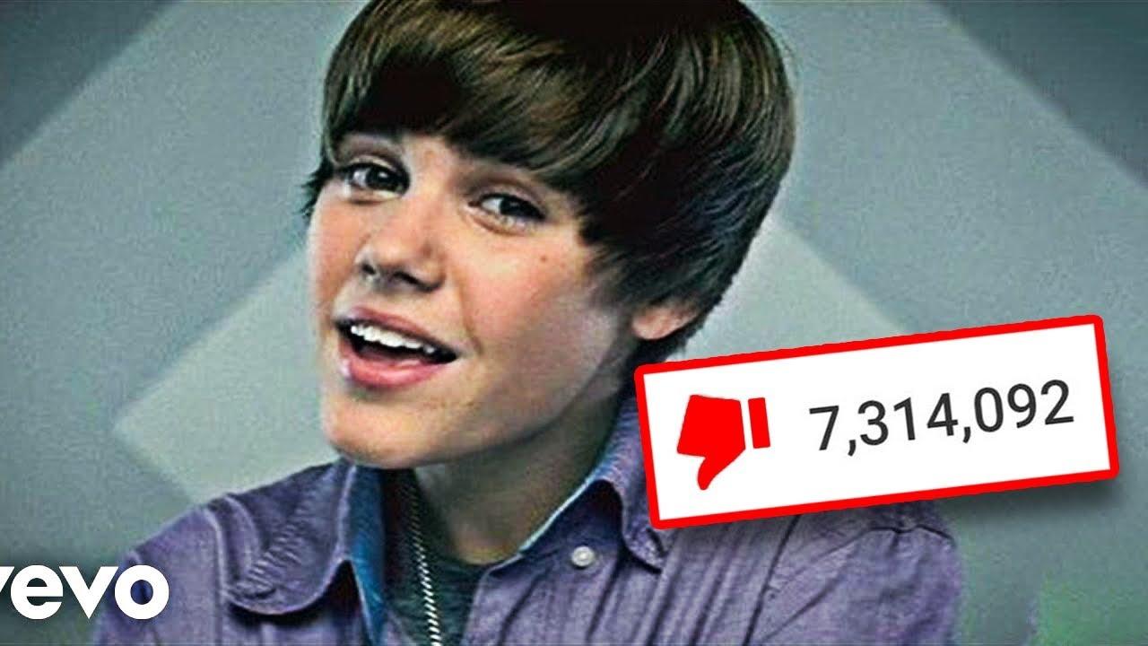10 видеа со најмногу дислајкови на Јутјуб
