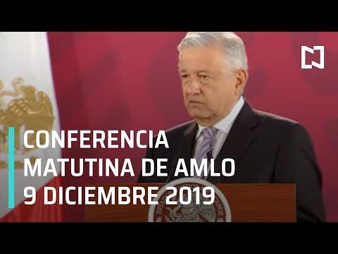 Conferencia matutina AMLO - 9 de diciembre 2019