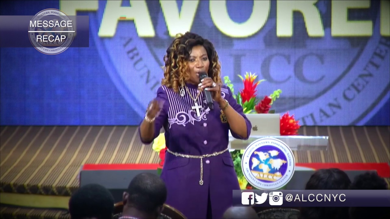 HOW TO BE BLESSED & HIGHLY FAVORED - Anthonia Adeyeye