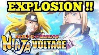 New Deidara + SUMMONS !  - Naruto x Boruto Ninja Voltage