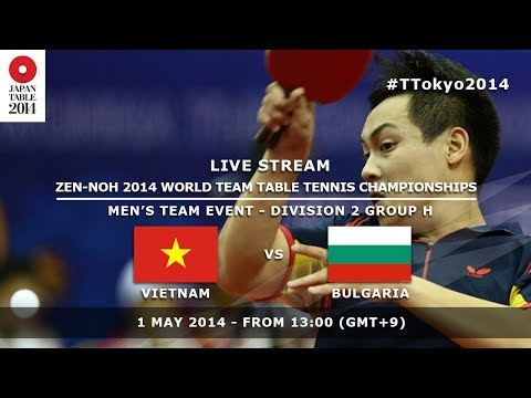 #TTokyo2014: Vietnam - Bulgaria