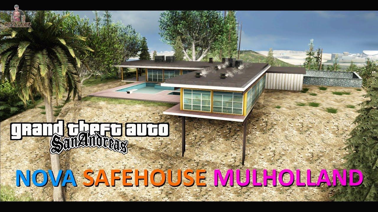 Nova Casa Das Colinas Estilo Gta V Para Sa Beta Mulholland Safehous Full Hd P