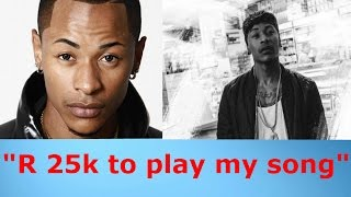Priddy Ugly asked to Pay 25 THOUSAND RAND to air his music on radio. More SABC Corruption?