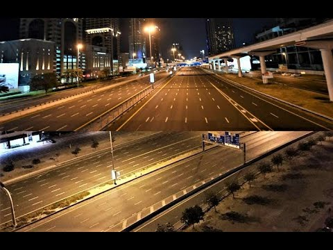 Dubai and Sharjah No Police, No Military, No Media, NoTraffic Implement Law in the Country