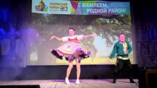 """""""Большая Перемена 2014"""" Танцевальный дуэт школы № 16"""