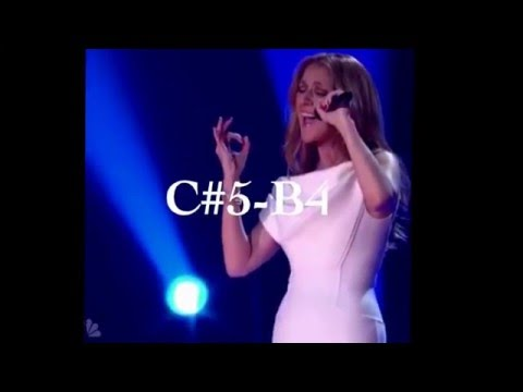 Celine Dion amazing c#5 note O holy night at Michael Buble's Christmas!