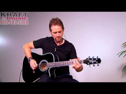 Kraft Music - Takamine EF341SC Acoustic Electric Guitar Demo with Brad Davis