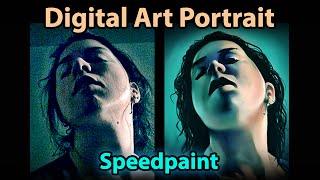 Female Portrait (Speed Portrait Painting)