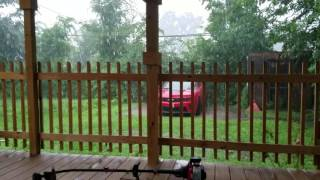 Raining like a mother f*****