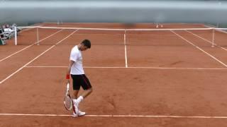 Novak Djokovic Practice RG 2016