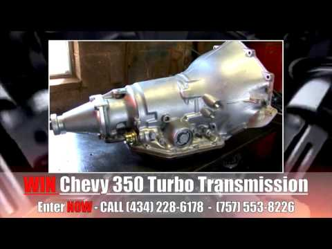 Enter to Win CHEVY 350 Engine & Transmission – Saunders Auto Repair 2