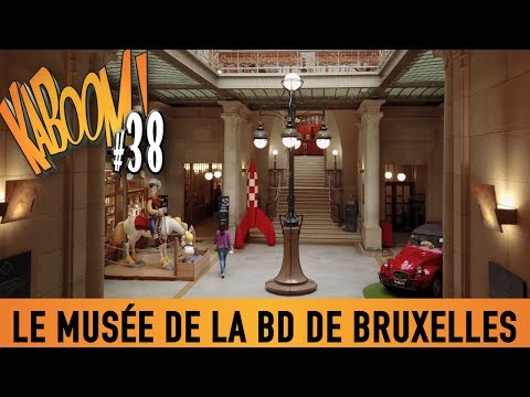 KABOOM! #38 - Visite au Musée de la BD de Bruxelles.