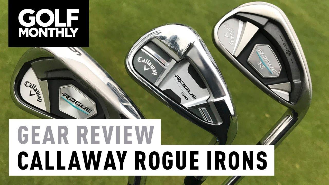 Callaway Rogue Vs Rogue Pro Vs Rogue X Irons Test Golf Monthly