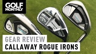 Callaway Rogue vs Rogue Pro vs Rogue X | Irons Test | Golf Monthly