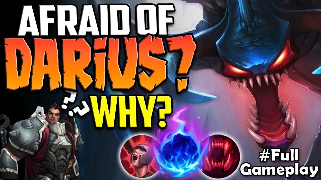 Afraid Of Darius Why Another Walking Food For Us Chogath Vs