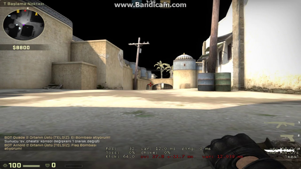 CS:GO no recoil command :D