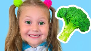 Yes Yes Vegetables Song - Kids Song from Eva Surprise