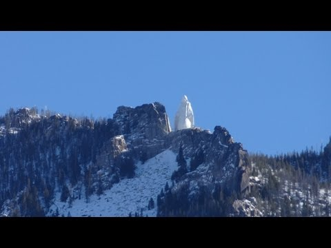 Our Lady of the Rockies Berkeley Pit Copper Mining Site Butte Montana Virgin Mary Statue