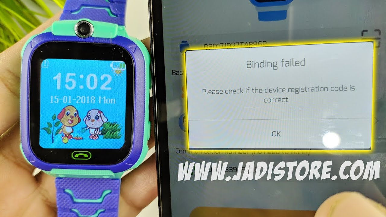 Binding Smartwatch Anak Q12 Gagal Gak Usah Panik Youtube