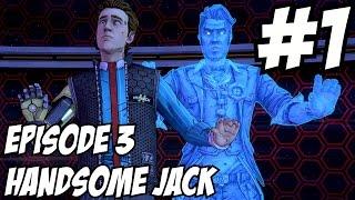 Tales of Borderlands Episode 3 Handsome Jack Choice Walkthrough Part 1 Gameplay Alternative