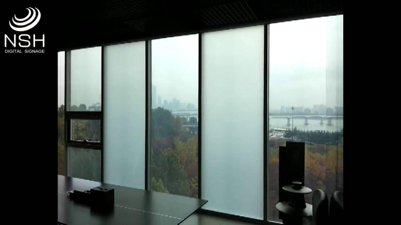 Cristal inteligente (Magic Foil) Transparente/Opaco - YouTube