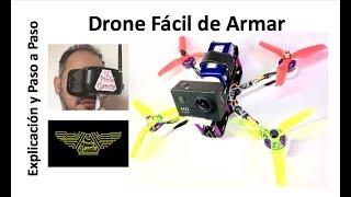 ✅ Como Hacer Un Drone  Paso a Paso, explicación y ensamble #1