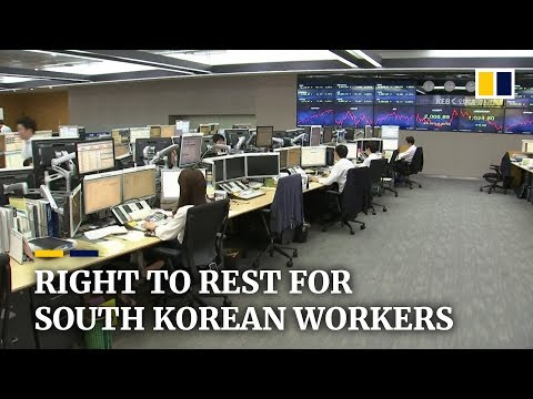 South Korean workers gain better life-work balance after labour law amendment
