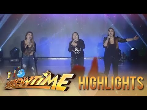 It's Showtime: Aegis performs 'Bulag, Pipi At Bingi' on It's Showtime stage