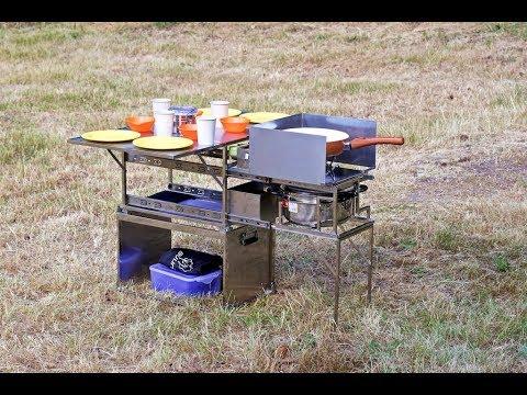 Mobile Outdoor Küche Camping : Campingküche kochbox mobile küche große variante von dare to