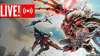 LIVE - God Eater 3 - DEMO COM HADES PLAYS!
