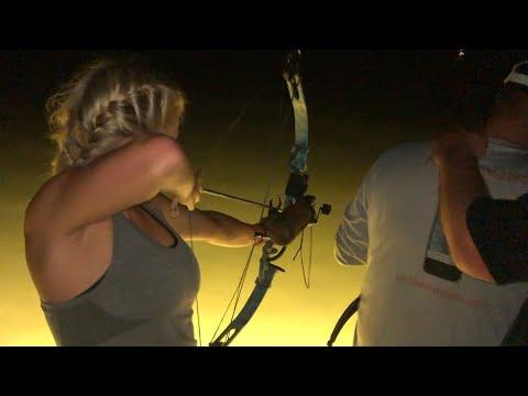 Bowfishing Stingray In Tampa Bay!