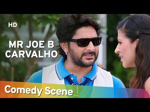 Mr Joe B. Carvalho  - अरशद वारसी कॉमेडी - Hit Comedy Scene - Shemaroo Bollywood Comedy