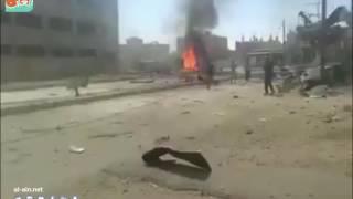 بالفيديو.. طائرات النظام السوري تقصف الحسكة لأول مرة منذ بدء الصراع