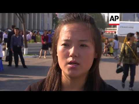 People of Pyongyang react to Kim's rebuke of Trump