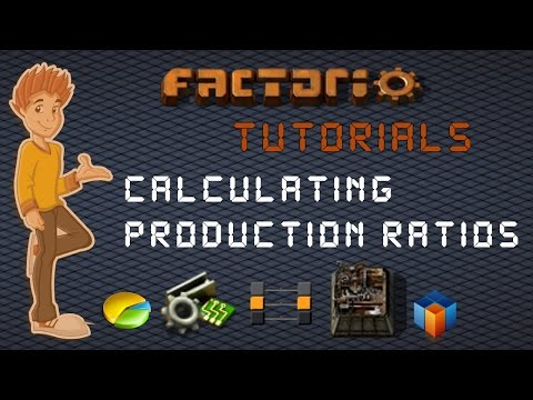 Calculating / Figuring Out Production Ratios - Factorio Tutorial