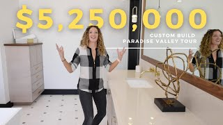 Inside our $5,250,000 Paradise Valley Custom Home | Morgan Hawes