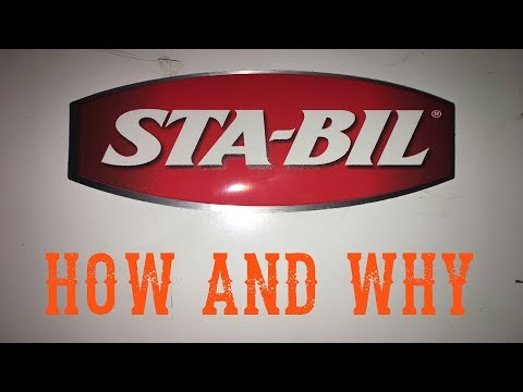 How And Why To Use STA-BIL Fuel Stabilizer Storage - Video