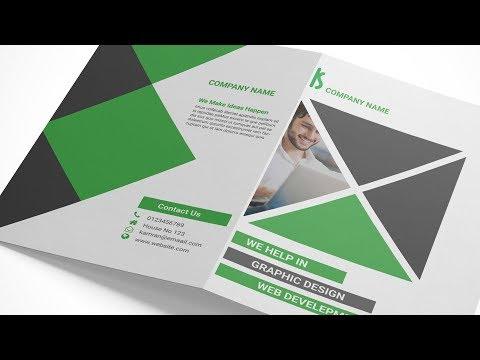 Create brochure on indesign