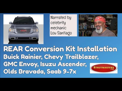 How To Repair The Rear Suspension On A GMC Envoy By Lou Santiago