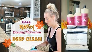 Deep Cleaning My Kitchen// Clean With Me// Extreme Cleaning Motivation// Keep Calm and Clean