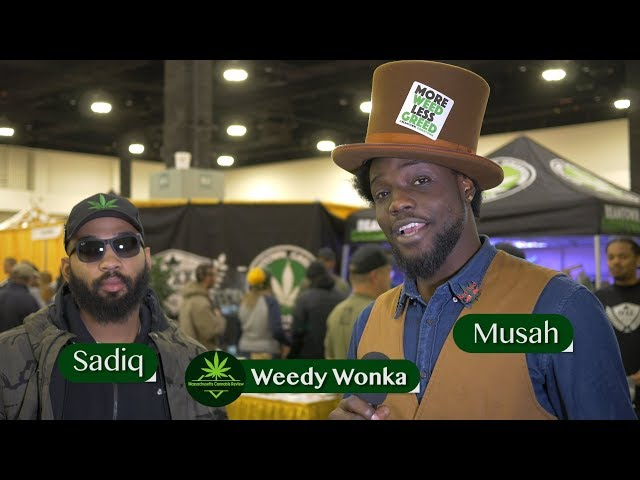 Weedy Wonka Interview at The Harvest Cup - MassCanRev