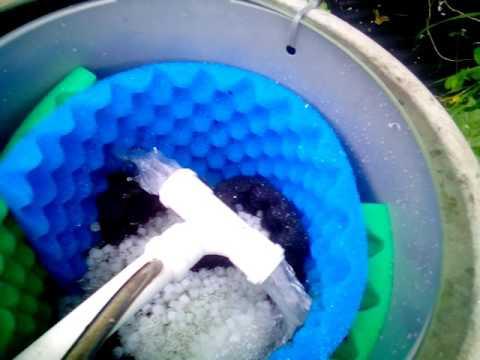 Homemade vortex / venturi pond filter