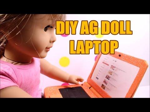 DIY American Girl Doll Laptop
