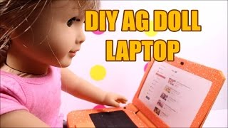 DIY AG American Girl Puppe Laptop