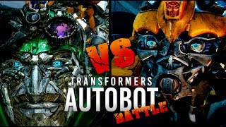 Transformers: Bumblebee vs Crosshairs (Autobot Battles)